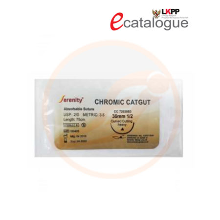 catgut chromic with needle